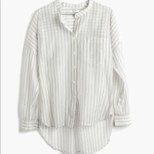 Madewell Cotton/Silk blend button down